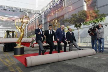 Guillermo Rodriguez 68th Emmy Awards Press Preview Day - Red Carpet Rollout