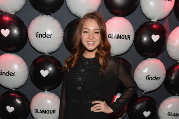 Guinevere Glamour Hearts Tinder Party in Hollywood