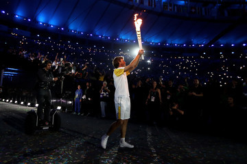 Gustavo Kuerten Opening Ceremony 2016 Olympic Games - Olympics: Day 0