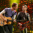 Guy Berryman Coldplay Performs at the Rose Bowl