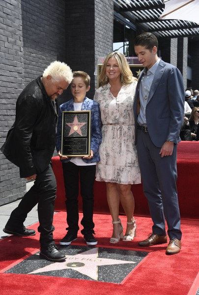 Guy Fieri Honored With Star On Hollywood Walk Of Fame
