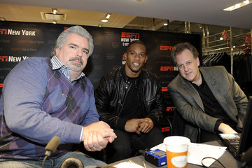 Michael Kay Guy's Night Out With Victor Cruz And Justin Tuck at Lord & Taylor