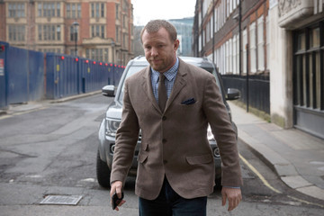Guy Ritchie Court Hearing In The Dispute Between Madonna and Guy Ritchie Over Their Son Rocco
