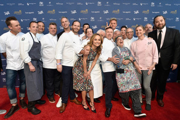 Guy Savoy Celebrity Chefs Light Up The Strip During Vegas Uncork'd By Bon Appetit's 10th Anniversary Grand Tasting At Caesars Palace