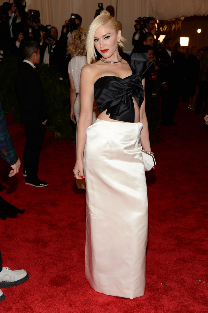 Gwen Stefani - Red Carpet Arrivals at the Met Gala