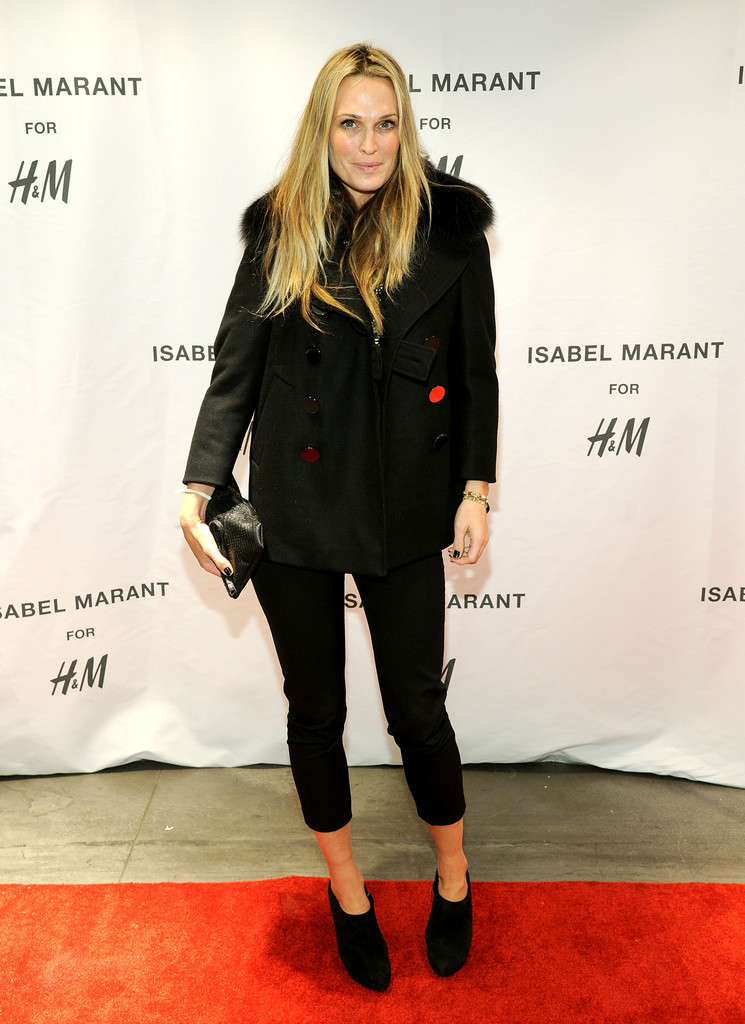 Molly Sims attends H&M Isabel Marant VIP Pre-Shopping Event at H&M Fifth Avenue on November 12, 2013 in New York City.