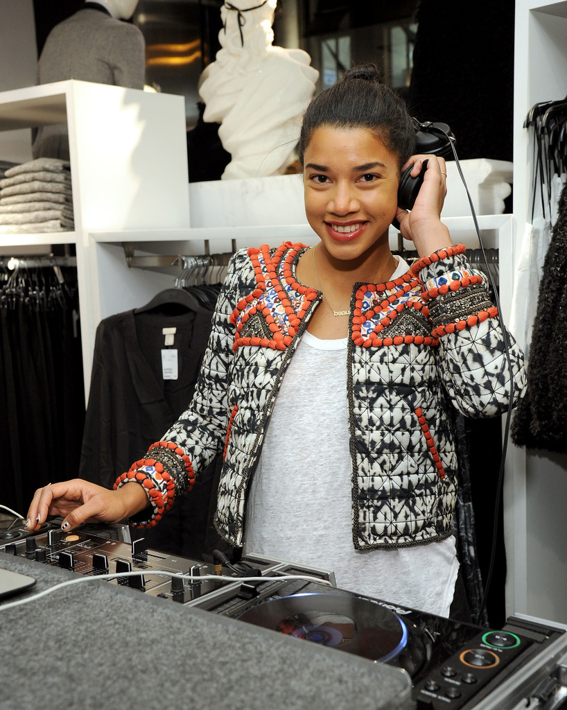 DJ Hannah Bronfman attends H&M Isabel Marant VIP Pre-Shopping Event at H&M Fifth Avenue on November 12, 2013 in New York City.
