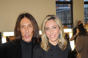 Edward Tricomi and Nicole Hanley Mellon attend HANLEY MELLON Fall/Winter 2015 Collection Presentation at Hudson Mercantile on February 12, 2015 in New York City.