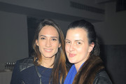 Zani Gugelmann and Chessy Wilson attend HANLEY MELLON Fall/Winter 2015 Collection Presentation at Hudson Mercantile on February 12, 2015 in New York City.