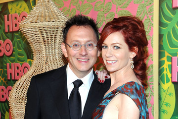 Michael Emerson Carrie Preston HBO's Annual Emmy Awards Post Award Reception - Arrivals