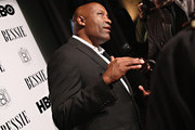 Director John Singleton attends the HBO Bessie 81 Tour at Stephan Weiss Studio on April 30, 2015 in New York City.