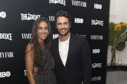 "(L-R) Isabel Pakzad and James Franco attend the New York Screening of HBO's ""The Deuce"" at Metrograph on September 5, 2019 in New York City."