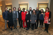"(L-R) Abhay Sofsky, Sareen Hairabedian, Wytold, Bobby Plagmann, April Harris, Anne Barlieb, Joe Merritt, Patti Bonnet, Jeffrey Wright, Seema Reza and Nancy Abraham attend the HBO Documentary Screening Of ""We Are Not Done Yet"" at HBO Theater on November 07, 2018 in New York City."