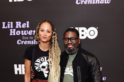 Nika Williams (L) and Lil Rel Howery attends HBO's Lil Rel Comedy Special Screening, Panel and Reception at NeueHouse Hollywood on November 21, 2019 in Los Angeles, California.