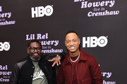 Lil Rel Howery (L) and Terrence J attend HBO's Lil Rel Comedy Special Screening, Panel and Reception at NeueHouse Hollywood on November 21, 2019 in Los Angeles, California.