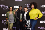 Lil Rel Howery (C) and team attend HBO's Lil Rel Comedy Special Screening, Panel and Reception at NeueHouse Hollywood on November 21, 2019 in Los Angeles, California.