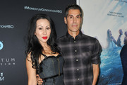 """Perry Ferrell and his wife Etty Lau attend HBO's """"Momentum Generation"""" Premiere at The Broad Stage on November 05, 2018 in Santa Monica, California."""
