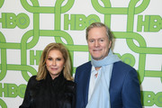 Kathy Hilton (L) and Rick Hilton attends HBO's Official Golden Globe Awards After Party at Circa 55 Restaurant on January 6, 2019 in Los Angeles, California.