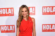 Marines Duarte attends the HOLA! USA launch hosted by Alec & Hilaria Baldwin at Porcelanosa on September 29, 2016 in New York City.