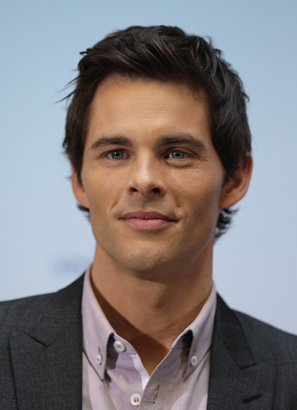 Actor James Marsden attends a photcall to promote the movie'HOP' at Hotel