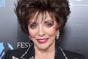 Joan Collins attends the 60th Anniversary Party For The Monte-Carlo TV Festival at Sunset Tower Hotel on February 05, 2020 in West Hollywood, California.