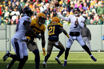 HaHa Clinton-Dix Baltimore Ravens v Green Bay Packers