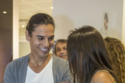 Julio Iglesias Jr attends the inauguration of the Hair Studio Center (VMV Cosmetic Group) on October 2, 2014 in Barcelona, Spain.