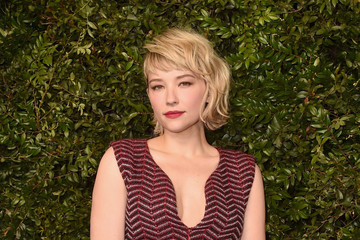 Haley Bennett Charles Finch And Chanel Pre-Oscar Awards Dinner At Madeo In Beverly Hills - Arrivals