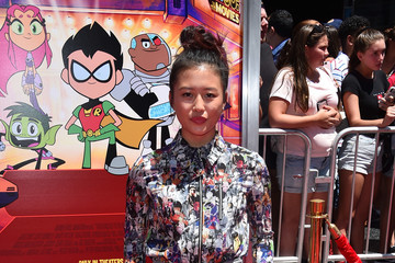 Haley Tju Los Angeles Premiere Of Warner Bros. Animations' 'Teen Titans Go! To The Movies' - Arrivals