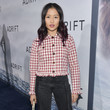 Haley Tju Premiere Of STX Films' 'Adrift' - Red Carpet
