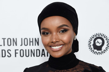 Halima Aden 28th Annual Elton John AIDS Foundation Academy Awards Viewing Party Sponsored By IMDb, Neuro Drinks And Walmart - Red Carpet