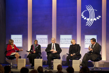 Halla Tomasdottir Clinton Global Initiative Annual Meeting in NYC