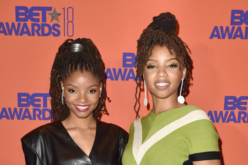 Halle Bailey 2018 BET Awards - Press Room