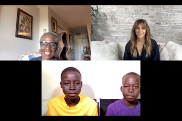 Halle Berry Wellness Warriorthon with Halle Berry by rē•spin and the Sonia Nabeta Foundation on World Diabetes Day