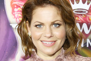Candace Cameron Bure arrives to the Hallmark Channel and Hallmark Movies and Mysteries Winter 2018 TCA Press Tour held at Tournament House on January 13, 2018 in Pasadena, California.