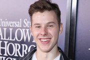 Nolan Gould attends Halloween Horror Nights 2018 at Universal Studios Hollywood on September 14, 2018 in Los Angeles, California.
