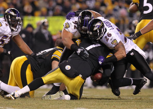 Haloti Ngata - Divisional Playoffs - Baltimore Ravens v Pittsburgh Steelers
