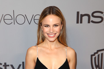 Halston Sage The 2018 InStyle and Warner Bros. 75th Annual Golden Globe Awards Post-Party - Red Carpet