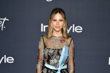 Halston Sage 21st Annual Warner Bros. And InStyle Golden Globe After Party - Arrivals