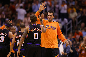 Hamed Haddadi Los Angeles Lakers v Phoenix Suns