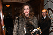 Trinny Woodall attends the opening night of 'Hamilton' at Victoria Palace Theatre on December 21, 2017 in London, England.