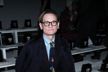 Hamish Bowles Anna Sui - Front Row - February 2020 - New York Fashion Week: The Shows