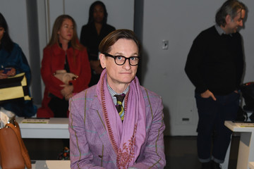 Hamish Bowles Bibhu Mohapatra - Front Row - February 2019 - New York Fashion Week: The Shows