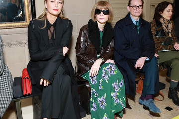 Hamish Bowles Vera Wang - Front Row - February 2020 - New York Fashion Week