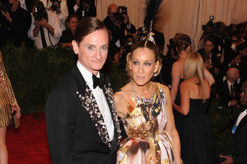 Hamish Bowles Red Carpet Arrivals at the Met Gala