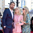 Hamish Linklater Judith Light Honored With A Star On The Hollywood Walk Of Fame