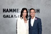 Annabeth Gish and Bill Damaschke attend Hammer Museum's 17th Annual Gala In The Garden on October 12, 2019 in Los Angeles, California.