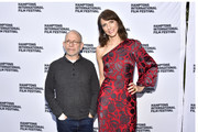 """Executive Producer Bob Balaban (L) and actress Dolly Wells attend a red carpet for """"Can You Ever Forgive Me?"""" at Guild Hall during Hamptons International Film Festival 2018 - Day Four on October 7, 2018 in East Hampton, New York."""