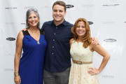 (L-R) Joan Hornig, Henry Hall and Patrice Lenowitz attend Hamptons Magazine Celebration of The Children's Justice Campaign Of Joan & George Hornig on August 16, 2014 in Water Mill, New York.