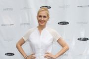 Kelly Rutherford attends Hamptons Magazine Celebration of The Children's Justice Campaign Of Joan & George Hornig on August 16, 2014 in Water Mill, New York.